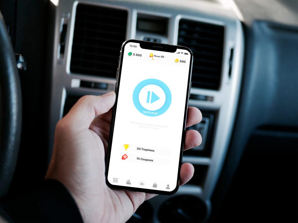 iPhoneXMOCKUP 1024x768 - Pourquoi récompenser les automobilistes responsables ?