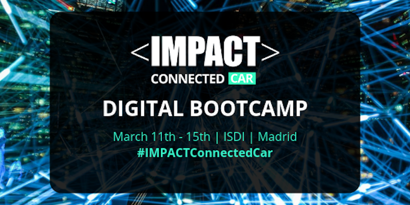 IMPACT CONNECTED CAR : Bootcamp à Madrid