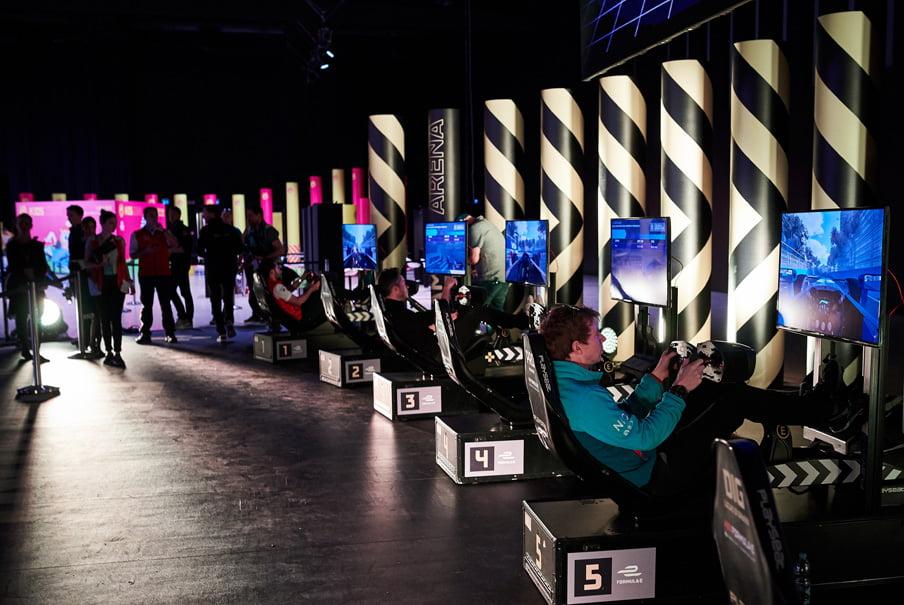 allianz gaming - Démarrage au quart de tour pour l'E-Prix de Paris : lancement de la nouvelle version d'eiver