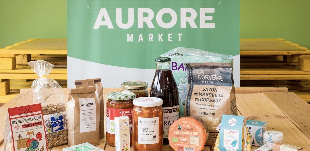 Aurore Market : démocratiser les produits bio