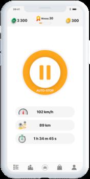 eiver App Screenshot - Riding