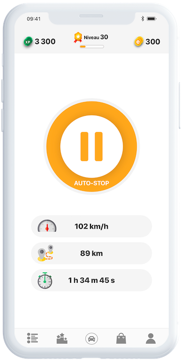 eiver App Screenshot - Riding