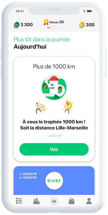 eiver appview timeline - eiver - Challenge your Drive