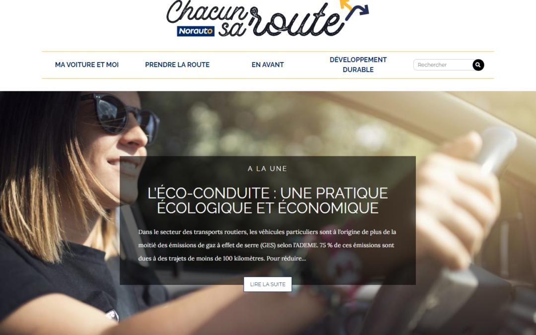Chacun Sa Route et l'engagement de Norauto pour l'éco-conduite