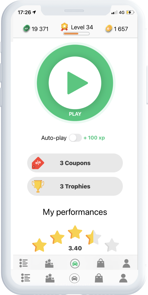 eiver app mockup play EN - eiver - Challenge your Drive